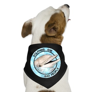 Dolphins Are Bad People Tote Bag - Dog Bandana