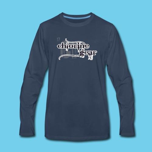 Greedo in a speedo- Men's Sweatshirt - Men's Premium Long Sleeve T-Shirt