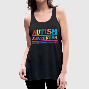 AUTISM AWARENESS Hoodies - Women's Flowy Tank Top by Bella