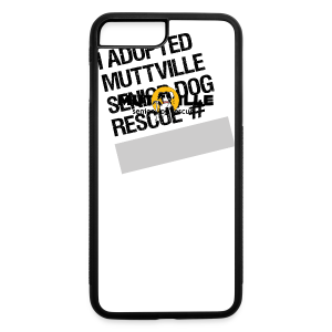 Muttville's #3000 Milestone Commemorative iPhone 5 Case - iPhone 7 Plus/8 Plus Rubber Case