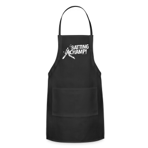 Batting Champ - Mens T-shirt - Adjustable Apron