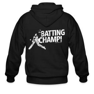 Batting Champ - Mens T-shirt - Men's Zip Hoodie