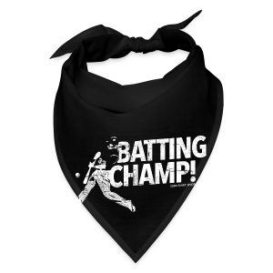 Batting Champ - Mens T-shirt - Bandana