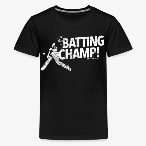 Batting Champ - Mens T-shirt - Kids' Premium T-Shirt