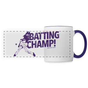 Batting Champ - Mens Baseball T-Shirt - Panoramic Mug