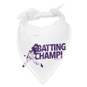 Batting Champ - Mens Baseball T-Shirt - Bandana