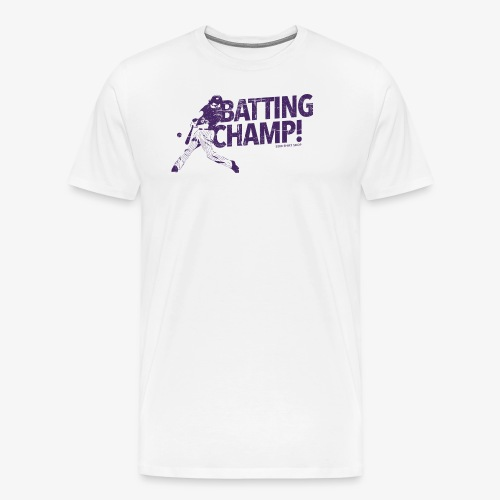 Batting Champ - Mens Baseball T-Shirt - Men's Premium T-Shirt