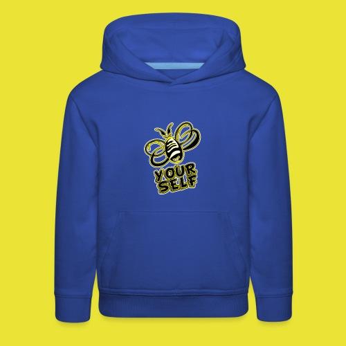 Bee-Yourself (kids) - Kids' Premium Hoodie