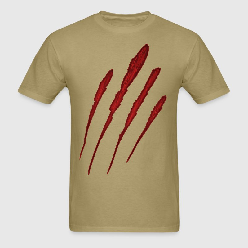 Werewolf Claw Mark T-Shirts - Men's T-Shirt