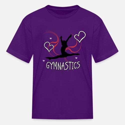 Gymnastics T-Shirt - Kids' T-Shirt