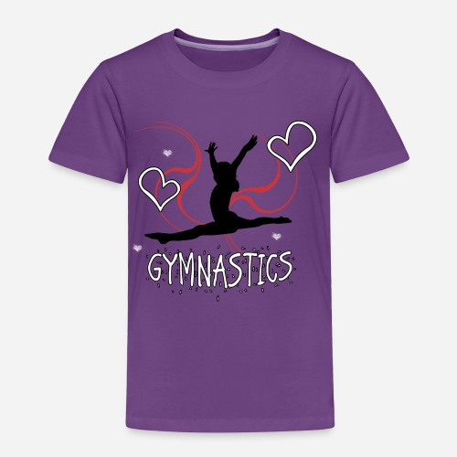 Gymnastics T-Shirt - Toddler Premium T-Shirt