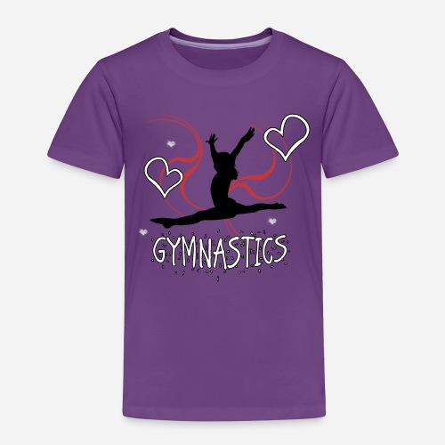 Gymnastics T-Shirt - Toddler Premium T-Shirt
