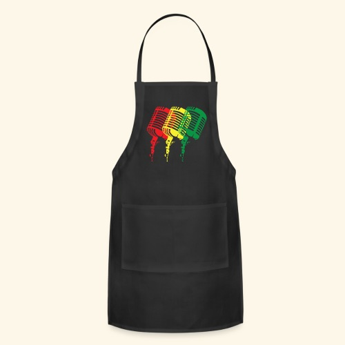 Reggae microphones - Adjustable Apron