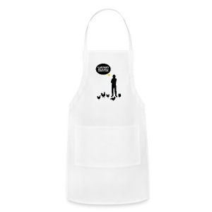 I like Fluffy Butts - Adjustable Apron