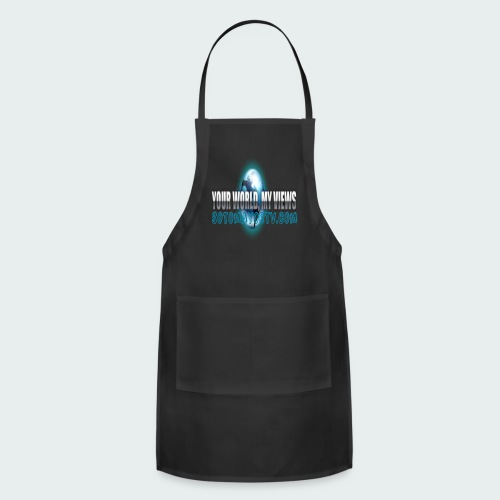 Your World My Views - Adjustable Apron