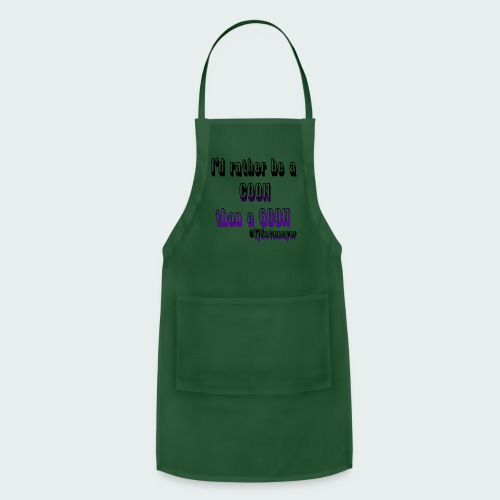 Rather Be A Coon - Adjustable Apron