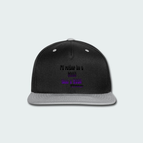 Rather Be A Coon - Snap-back Baseball Cap