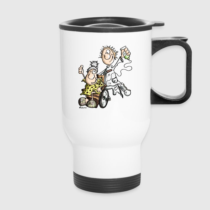 Funny Caregiver Mugs & Drinkware - Travel Mug