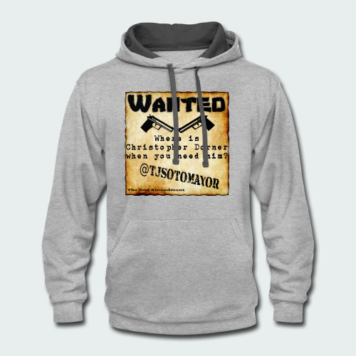 Where is Christopher Dorner - Contrast Hoodie