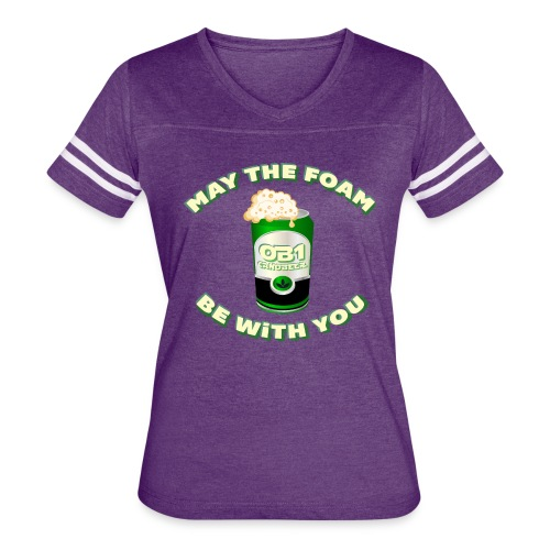 OB1 CANOBEER - Women's Vintage Sport T-Shirt