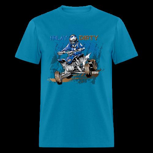 Dirty ATV Racer - Men's T-Shirt