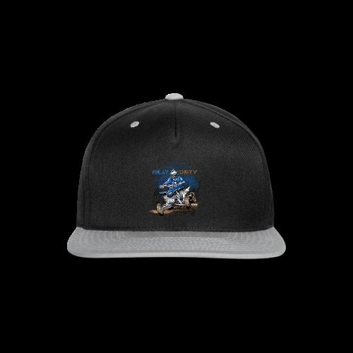 Dirty ATV Racer - Snap-back Baseball Cap