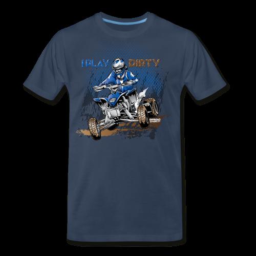 Dirty ATV Racer - Men's Premium T-Shirt