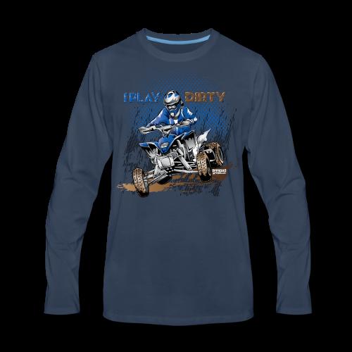 Dirty ATV Racer - Men's Premium Long Sleeve T-Shirt