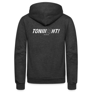 TONIII19HT - Ladies Longer Length Fitted Tank - Unisex Fleece Zip Hoodie by American Apparel
