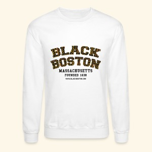 Black Boston Gold Massachusetts Classic T  - Crewneck Sweatshirt