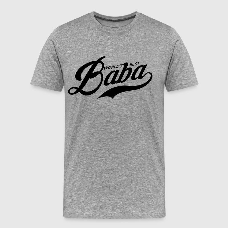 World's Best Baba T-Shirts - Men's Premium T-Shirt