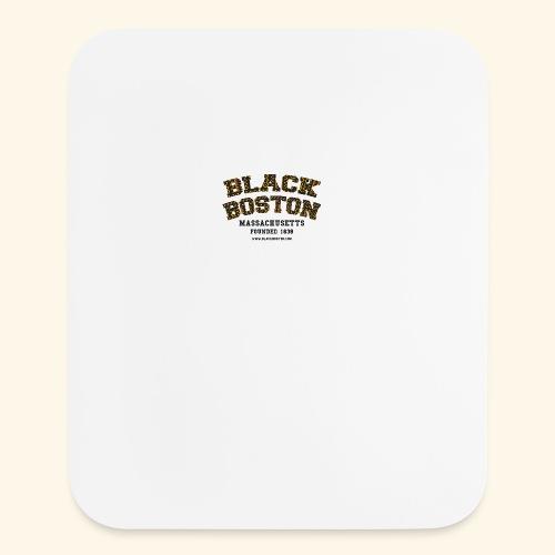 Boston Black Coffee Mug a Black Boston souvenir - Mouse pad Vertical