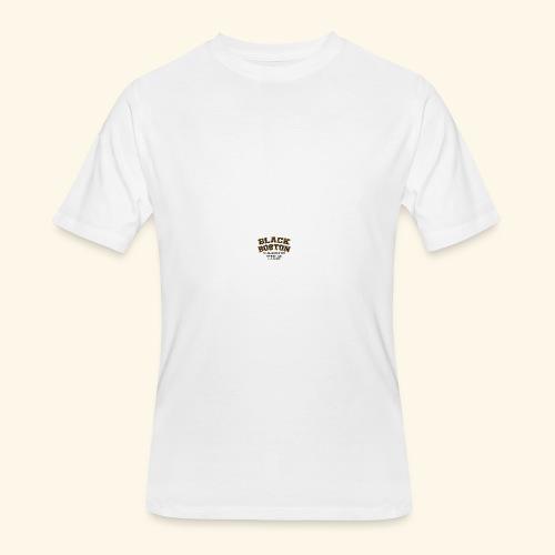 Boston Black Coffee Mug a Black Boston souvenir - Men's 50/50 T-Shirt