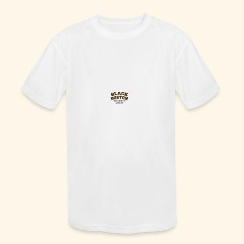 Boston Black Coffee Mug a Black Boston souvenir - Kids' Moisture Wicking Performance T-Shirt