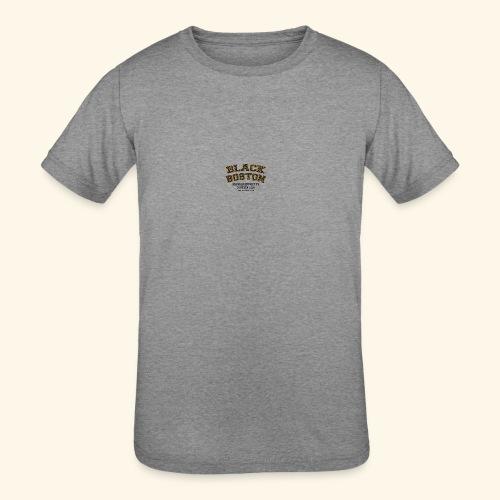 Boston Black Coffee Mug a Black Boston souvenir - Kids' Tri-Blend T-Shirt