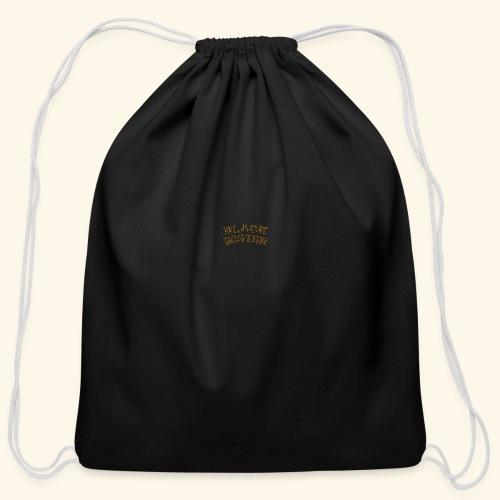 Boston Black Coffee Mug a Black Boston souvenir - Cotton Drawstring Bag