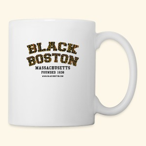 Boston Black Coffee Mug a Black Boston souvenir - Coffee/Tea Mug