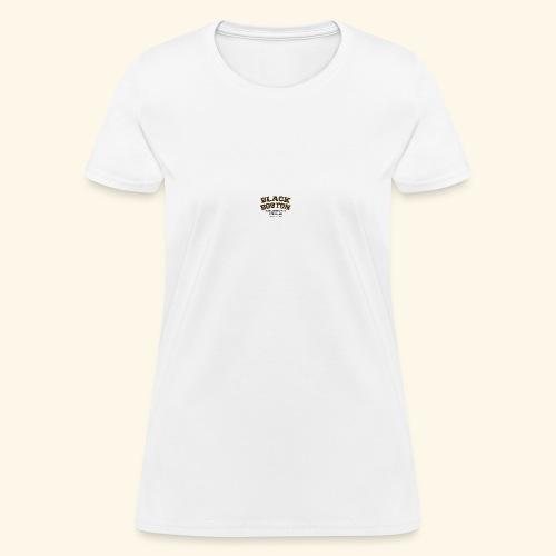 Boston Black Coffee Mug a Black Boston souvenir - Women's T-Shirt