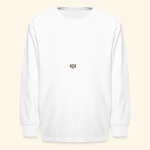 Boston Black Coffee Mug a Black Boston souvenir - Kids' Long Sleeve T-Shirt