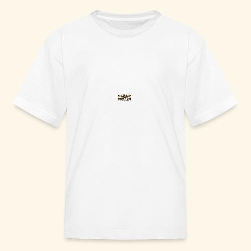 Boston Black Coffee Mug a Black Boston souvenir - Kids' T-Shirt