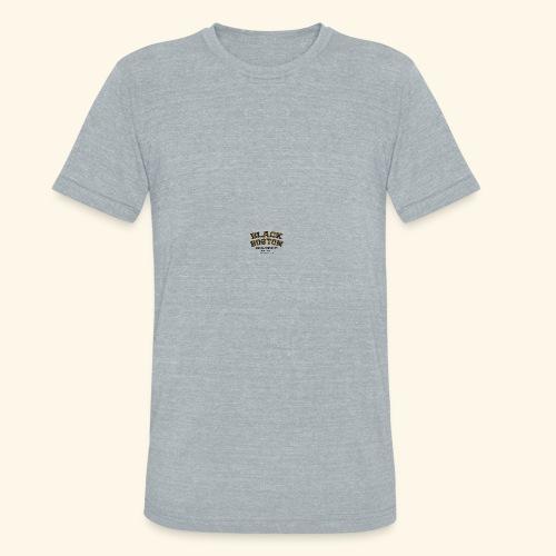 Boston Black Coffee Mug a Black Boston souvenir - Unisex Tri-Blend T-Shirt