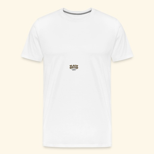 Boston Black Coffee Mug a Black Boston souvenir - Men's Premium T-Shirt