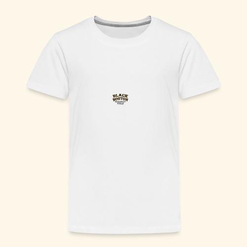 Boston Black Coffee Mug a Black Boston souvenir - Toddler Premium T-Shirt
