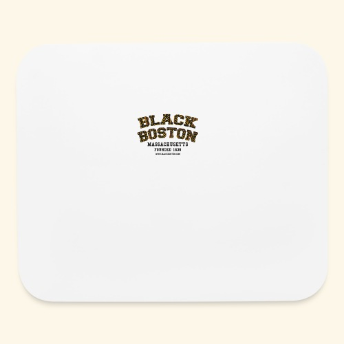 Boston Black Coffee Mug a Black Boston souvenir - Mouse pad Horizontal