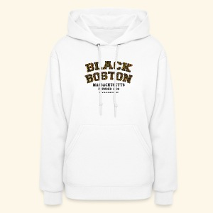 Boston Souvenir Black Boston Classic T-shirt  long sleeve baseball style - Women's Hoodie