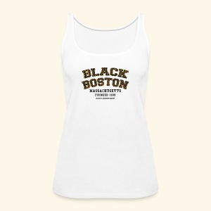 Boston Souvenir Black Boston Classic T-shirt  long sleeve baseball style - Women's Premium Tank Top