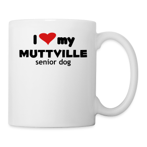 I love my Muttville senior dog tee men's ringer tee - Coffee/Tea Mug
