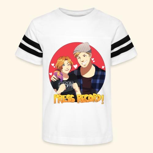 Men's 'Press Record In Love' Tee - Kid's Vintage Sport T-Shirt