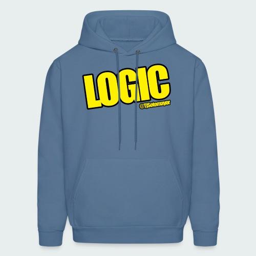 Mens Logic Shirt- PLUS SIZE TEE UP TO 5X - Men's Hoodie