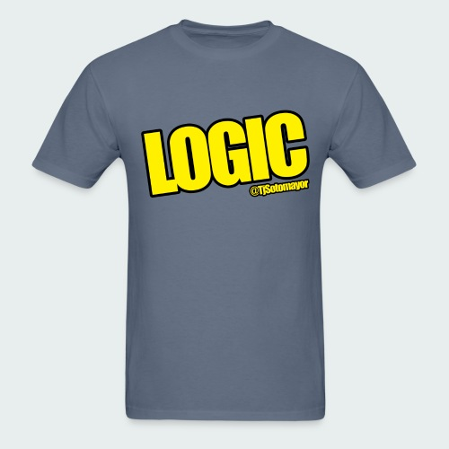 Mens Logic Shirt- PLUS SIZE TEE UP TO 5X - Men's T-Shirt